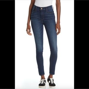 NEW $128 Madewell 9-Inch Mid Rise Skinny Jeans